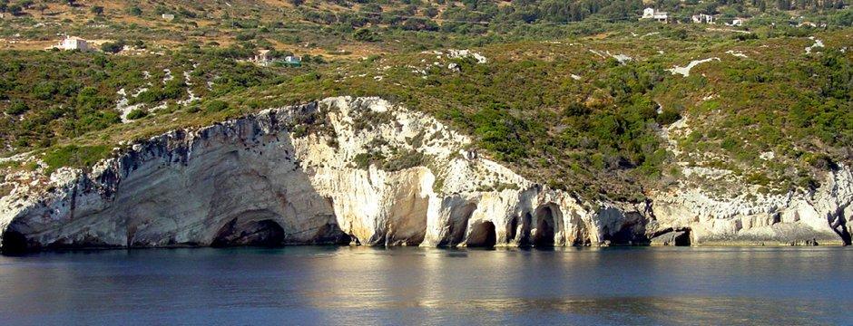 Grotte di Keri a Zante
