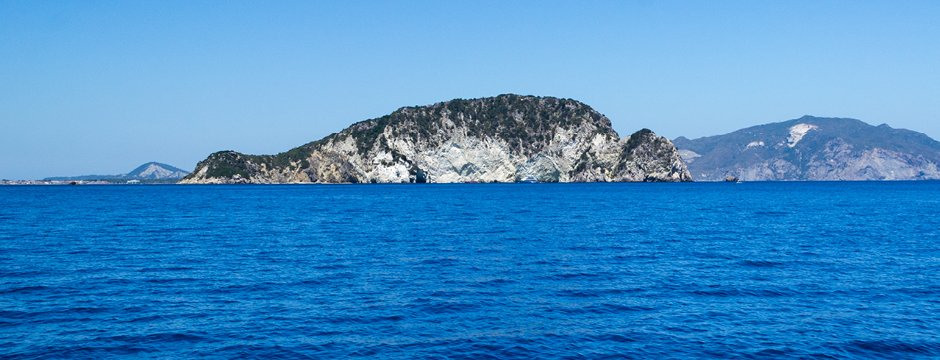 Isola Marathonissi a Zante