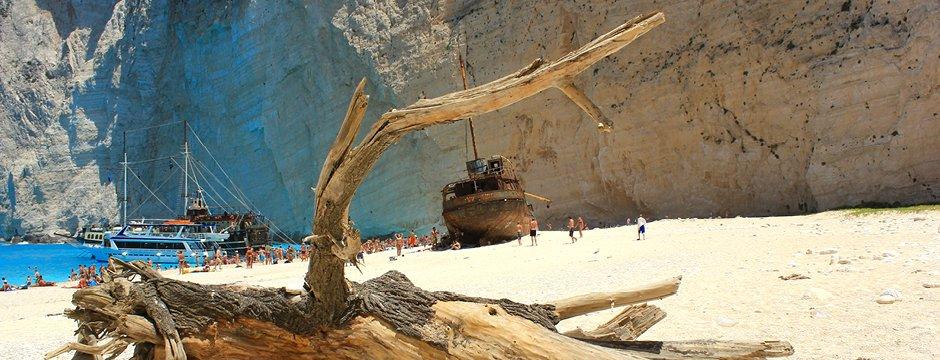 Spiaggia del Relitto di Zante